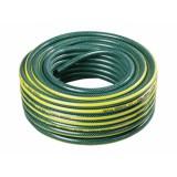 Hadice GARDENIE 25m 1 2 černá duše, tmavě zelená se žlutým pruhem