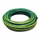 Hadice GARDENIE 25m 1 černá duše, tmavě zelená se žlutým pruhem