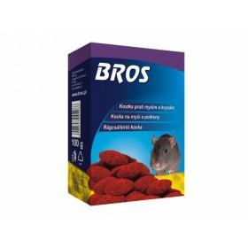 BROS-parafinové bloky na myši,krysy a potkany 100g kr
