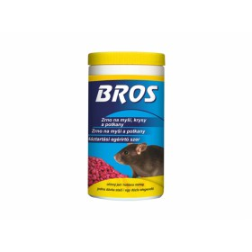 BROS-zrno na myši, krysy a potkany 300g dóza
