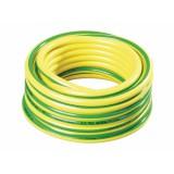 Hadice PROFAR 15m 3 4 bílá duše,žlutá se zelenými pruhy