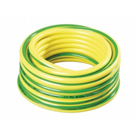 Hadice PROFAR 15m 3/4 - žlutá se zelenými pruhy