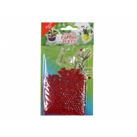 Perly gelové/substrát/10g/700ml/1cm/červená