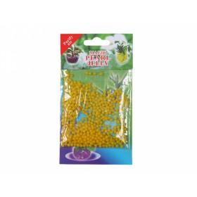 Perly gelové/substrát/10g/700ml/1cm/žlutá